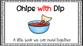 Sight Word Activity - PowerPoint and Emergent Reader for the sight word WITH