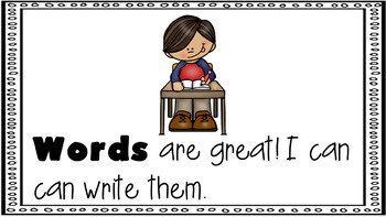 Sight Word Activity - PowerPoint and Emergent Reader for the sight word WORDS