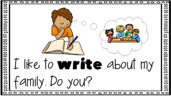 Sight Word Activity - PowerPoint and Emergent Reader for the sight word WRITE