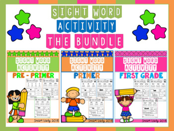 Sight Word Activity THE BUNDLE