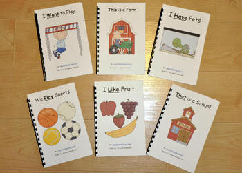 Sight Word Adapted Books Pack I
