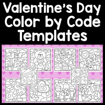 Sight Word Coloring Pages for Valentine\'s Day {8 Pages!}