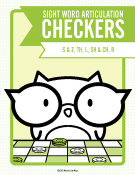 Sight Word Articulation Checkers