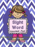 Sight Word Assessment ~ Dolch word lists