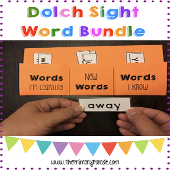 Dolch Sight Word Practice Folder