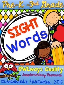 Sight Word Assessments by Ms. Lendahand