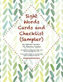 Sight Word Assessment Sampler FREEBIE