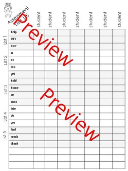 Back to School Activities:  Sight Word Practice Whole Year