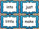 Sight Word Assessment and Activity Word Cards - Benchmark System 1