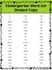 Sight Word Assessment and Progress Monitoring Pack with Student Tracking Charts