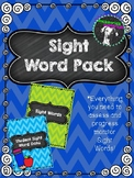 Sight Word Assessment and Progress Monitoring Pack with St