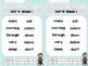 Sight Word Assessments: 2nd Grade Reading Wonders UNIT 4