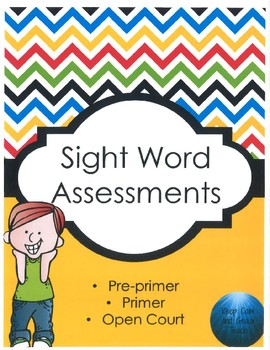 Sight Word Assessments and Flashcards