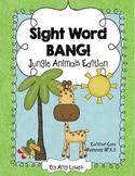 Sight Word BANG! Jungle Animals Edition