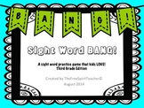 Sight Word BANG! for Third Grade