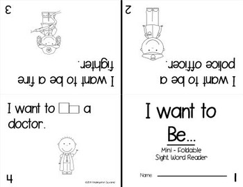 Sight Word: BE- Interactive Flap Book, Reader, and More!