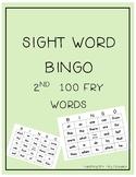 Sight Word BINGO 101-200 Fry Words