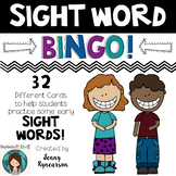 Sight Word BINGO! ♥ 32 Different Cards ♥