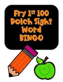 Sight Word BINGO Fry First 100 words NO PREP