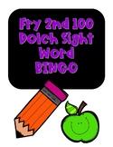 Sight Word BINGO Fry the 2nd 100 words NO PREP
