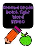Sight Word BINGO- Second Grade Dolch Words NO PREP