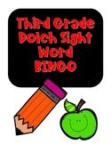 Sight Word BINGO- Third Grade Dolch Sight Words NO PREP