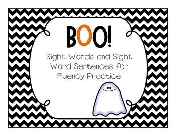 Sight Word BOO!
