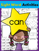 Sight Word BUNDLE #2 (are, can, have, is, said, they, this