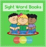 Sight Word BUNDLE (Level D)