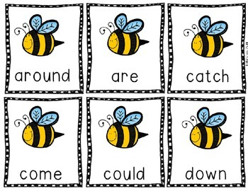 Sight Word Game: Back to the Hive - Unit 2