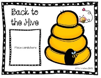 Sight Word Game: Back to the Hive - Unit 3