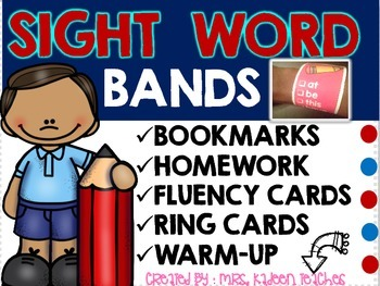 Sight Word Bands and More