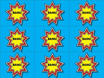 Sight Word Bang 1 to 5