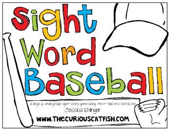 Sight Word Baseball