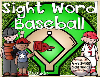 Sight Word Baseball (Fry's 2nd 100)