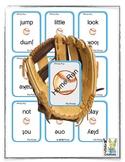 Sight Word Baseball Home Run Game (pre primer)