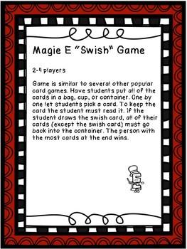 Sight Word Basketball Card Game