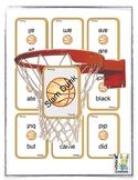 Sight Word Basketball Slam Dunk Game (primer)