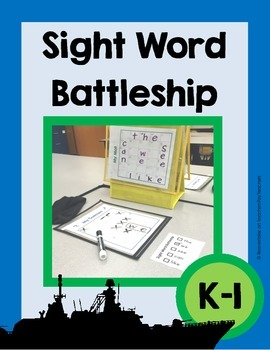 Sight Word Battleship