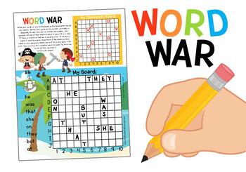 Sight Word Battleship: Dolch 220 Primer