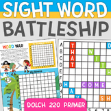 Sight Word Battleship: Dolch 220 Primer