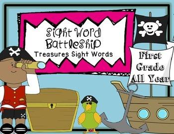 Sight Word Battleship Treasures