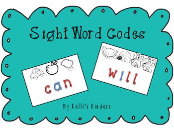 Sight Word Beginning Sound Code