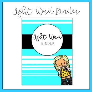Sight Word Binder