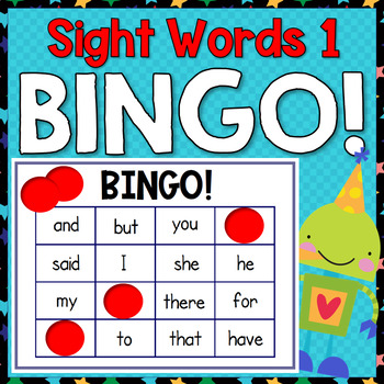 Sight Word Bingo 1