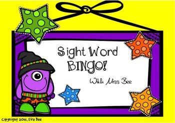 Sight Word Bingo!