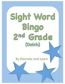 Sight Word Bingo: 2nd grade (Dolch)