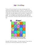 Sight Word Bingo - Full Color Version