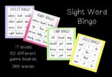 Sight Word Bingo - All 300 Sight Words Bundle