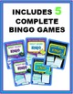 Sight Word Bingo BUNDLE - Fry's Instant Words 1-100 (Includes 5 complete games)